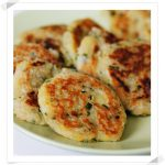 Tortitas de Patata y Cebolleta